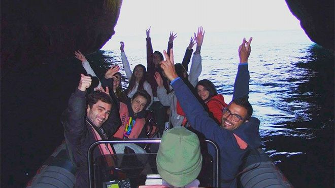 Seadolphins Algarve&#10Local: Praia da Rocha / Portimão&#10Foto: Seadolphins Algarve