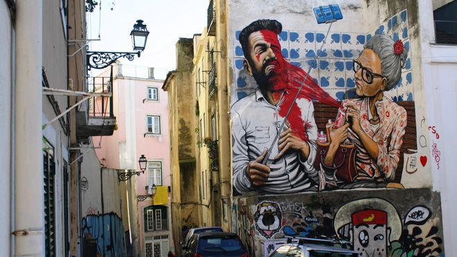 Kilómetro Lisboa&#10Local: Lisboa&#10Foto: Kilómetro Lisboa