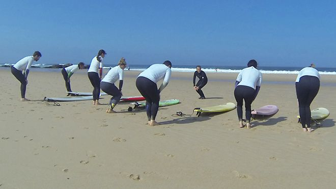 Solfun surf school&#10Lieu: Colares - Sintra&#10Photo: Solfun surf school
