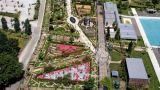 Festival Internacional de Jardins - vista aérea&#10Local: Ponte de Lima&#10Foto: CM Ponte de Lima