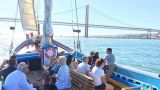 Nosso Tejo - Lisbon Traditional Boats - Sightseeing Cruises&#10Local: Lisboa&#10Foto: Nosso Tejo - Lisbon Traditional Boats - Sightseeing Cruises