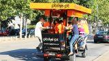 Party Bike&#10Local: Porto&#10Foto: Party Bike