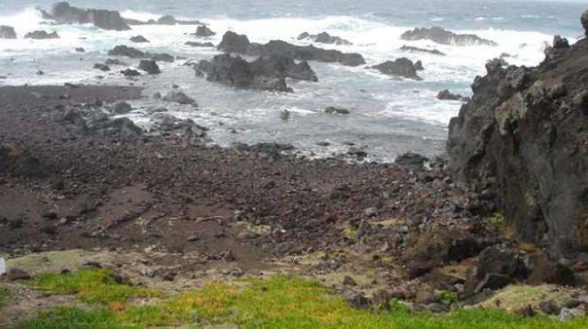 Zona Balnear Poças Sul dos Mosteiros&#10Lugar São Miguel - Açores