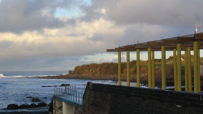 Zona Balnear dos Anjos&#10Ort: Santa Maria - Açores&#10Foto: ABAE