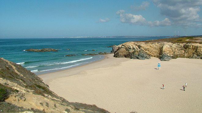 Praia Grande de Porto Covo&#10Lugar Sines&#10Foto: ABAE