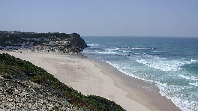 Praia do Monte Clérigo&#10Lugar Aljezur&#10Foto: ABAE