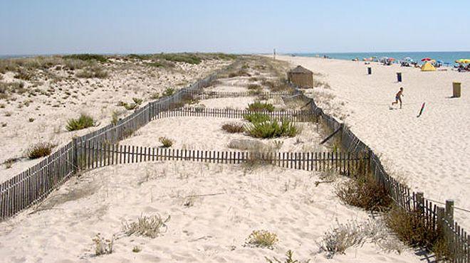 Praia da Terra Estreita&#10場所: Tavira&#10写真: ABAE