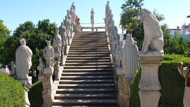Jardim do Paço Episcopal&#10Lugar Castelo Branco