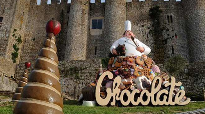 Festival do Chocolate&#10Lieu: Óbidos&#10Photo: CM Óbidos