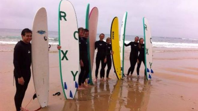 Lisbon Surf Tours&#10Local: Cascais&#10Foto: Lisbon Surf Tours