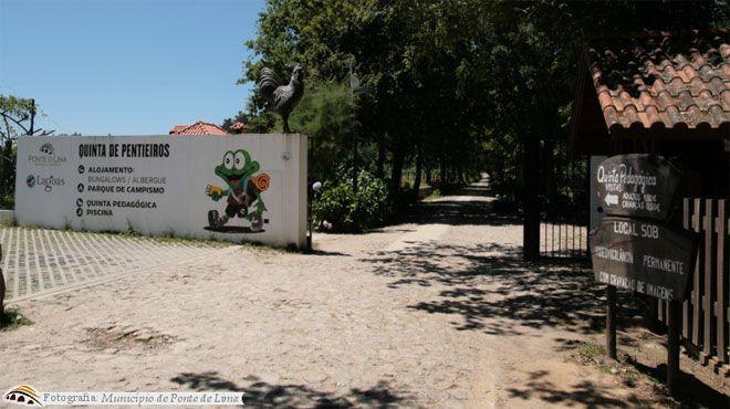 Parque de Campismo e Caravanismo da Quinta de Pentieiros&#10Local: Ponte de Lima&#10Foto: Parque de Campismo e Caravanismo da Quinta de Pentieiros