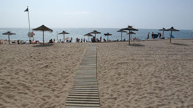 Praia de São Lourenço&#10Lugar Ericeira&#10Foto: ABAE