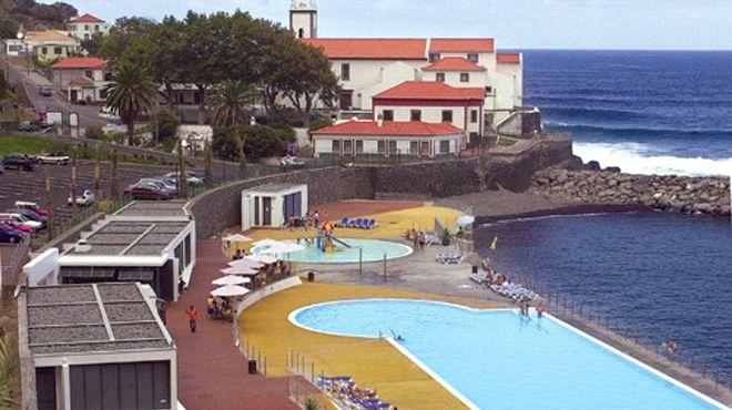 Zona Balnear de Ponta Delgada&#10場所: São Vicente - Madeira&#10写真: ABAE