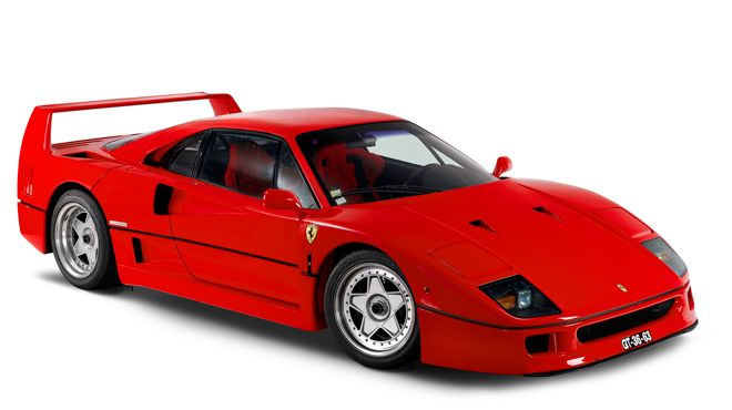 Ferrari F40&#10照片: Museu do Caramulo