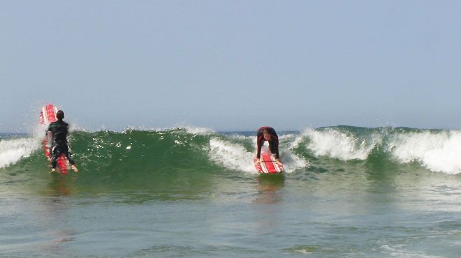 Yellow Van Surf Rides