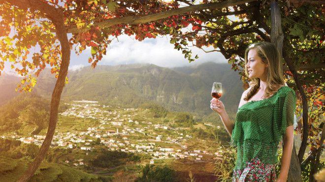 Festa do vinho da Madeira&#10Lugar Funchal