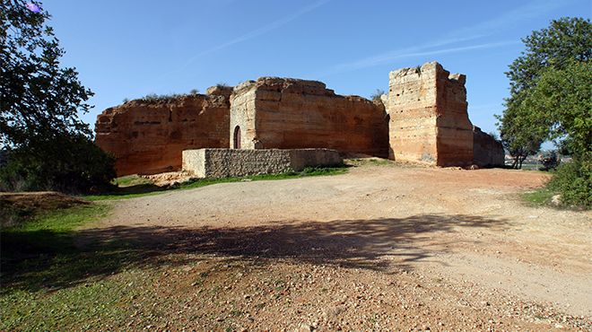 Castelo de Paderne (vestígios)&#10Foto: José Manuel