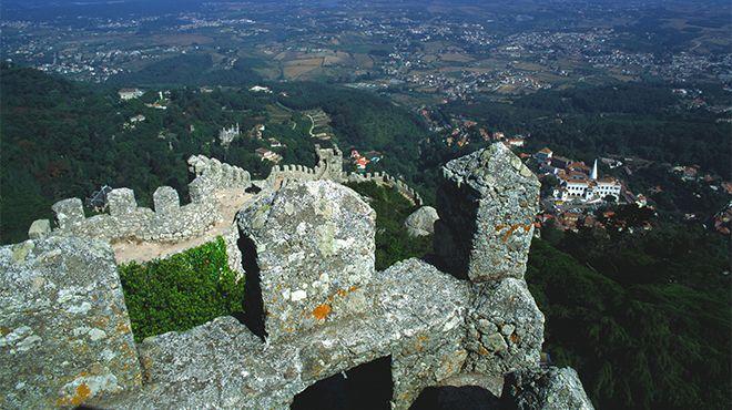 Castelo dos Mouros - Sintra&#10Lieu: Sintra