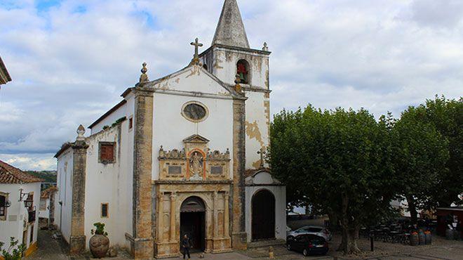 Igreja de Santa Maria, matriz de Óbidos&#10Local: Óbidos&#10Foto: Nuno Félix Alves