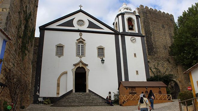 Igreja de Santiago - Óbidos Local: Óbidos Foto: Nuno Félix Alves