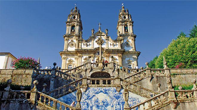 Santuário de Nossa Senhora dos Remédios&#10Foto: Porto Convention & Visitors Bureau