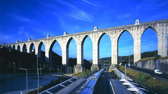 Aqueduto das Águas Livres&#10Lugar Lisboa&#10Foto: José Manuel