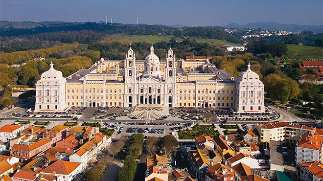 Palácio Nacional e Convento de Mafra&#10Photo: JTC Estoril