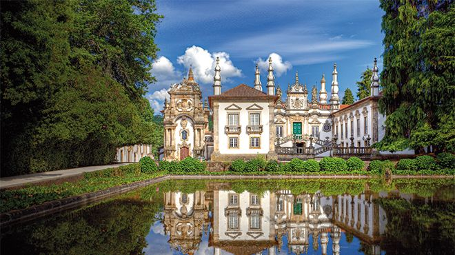 Casa de Mateus&#10Plaats: Vila Real&#10Foto: Porto Convention & Visitors Bureau