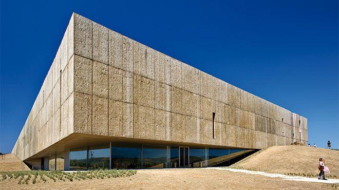 Museu do Côa&#10Luogo: Vila nova de Foz Côa&#10Photo: Porto Convention & Visitors Bureau