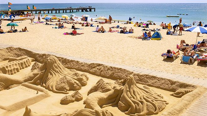 Praia dos Pescadores - Albufeira&#10Foto: Helio Ramos - Turismo do Algarve