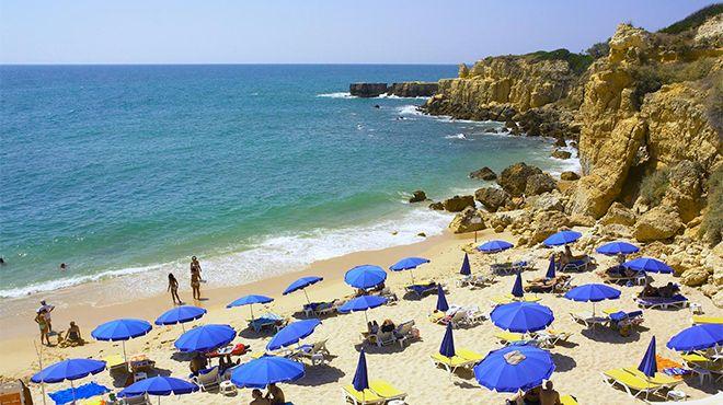 Praia do Castelo - Guia&#10Photo: Helio Ramos - Turismo do Algarve