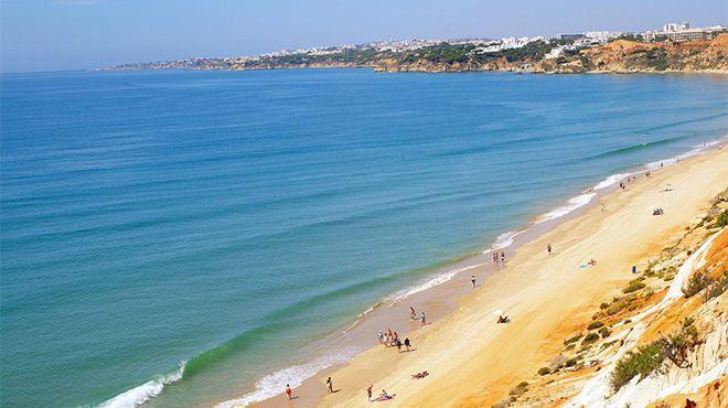 Praia da Falésia - Açoteias / Alfamar&#10Foto: Helio Ramos - Turismo do Algarve