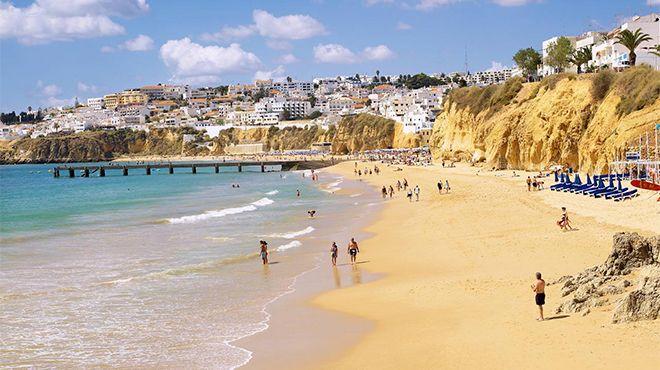 Praia do Inatel - Albufeira&#10Place: Albufeira&#10Photo: Helio Ramos - Turismo do Algarve