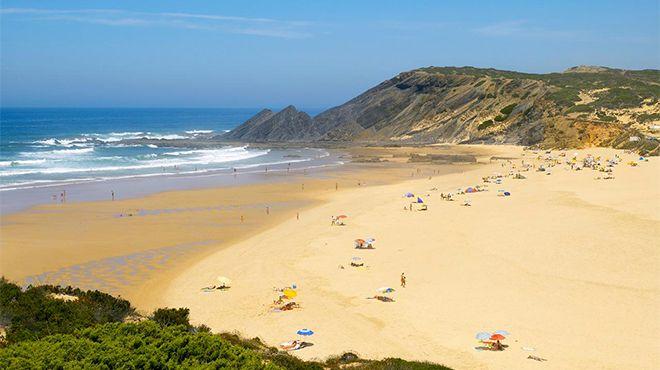 Praia da Amoreira&#10Foto: Helio Ramos - Turismo do Algarve