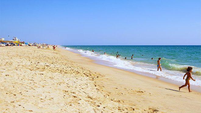Praia da Ilha de Faro&#10Foto: Turismo do Algarve