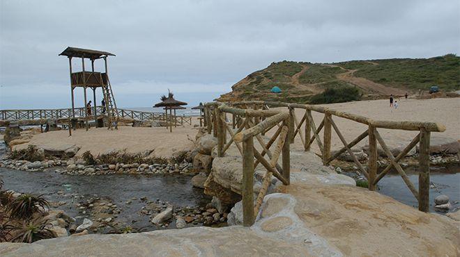 Praia da Ribeira d'Ilhas&#10Lugar Ericeira