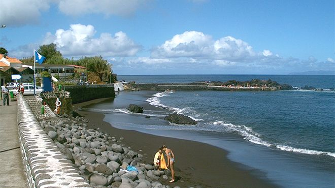 Praia do Almoxarife&#10Plaats: Açores&#10Foto: C.M Horta