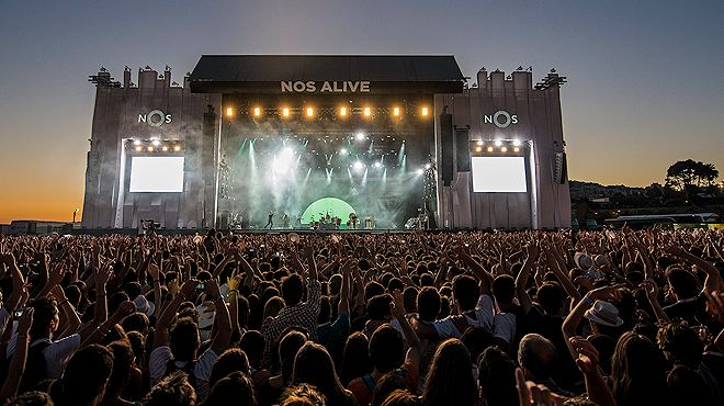 NOS Alive&#10Photo: Lino Silva