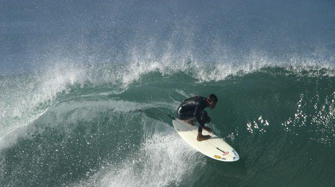 Praia de Supertubos&#10Place: Praia de Supertubos/Peniche&#10Photo: Ricardo Bravo