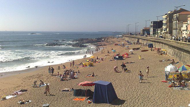Praia da Foz&#10Ort: Porto&#10Foto: ABAE