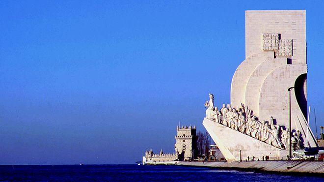 Padrão dos Descobrimentos&#10Lugar Lisboa