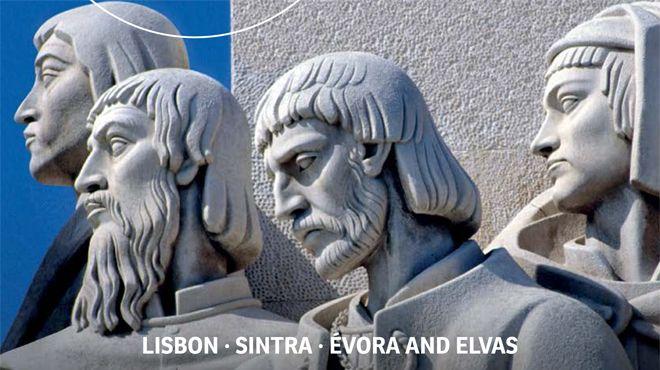 Roteiros Turísticos do Património Mundial - Lisboa, Sintra, Évora e Elvas