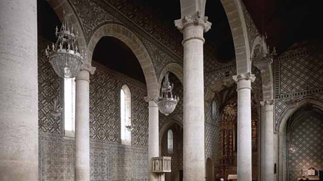 Igreja de Santa Maria de Marvila&#10Lugar Santarém&#10Foto: Arquivo Turismo de Portugal
