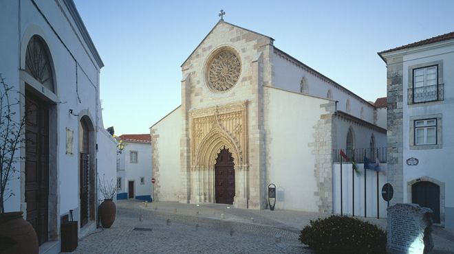 Igreja da Graça&#10Lugar Santarém&#10Foto: José Manuel