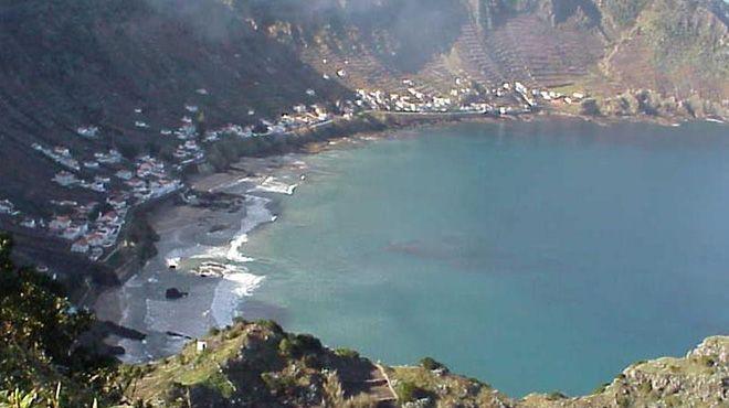 Praia de São Lourenço - Vila do Porto&#10Local: Ilha de Santa Maria - Vila do Porto&#10Foto: ABAE