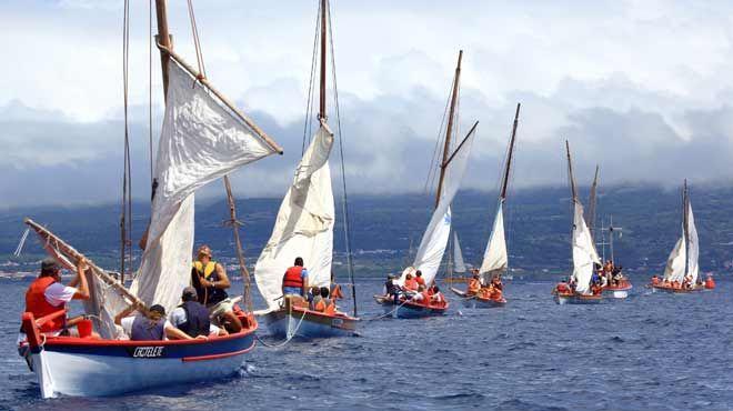 Semana do Mar - traditional boats&#10地方: Horta - Ilha do Faial - Açores&#10照片: Turismo dos Açores / Publiçor