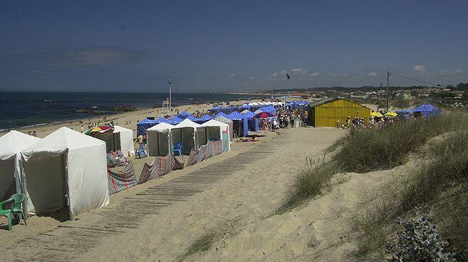 Praia de Francemar&#10Ort: Vila Nova de Gaia&#10Foto: ABAE