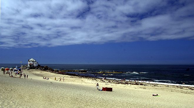 Praia do Senhor da Pedra&#10Ort: Vila Nova de Gaia&#10Foto: ABAE