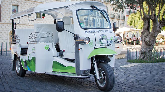 Eco Tuk Tours&#10Luogo: Lisboa&#10Photo: Eco Tuk Tours