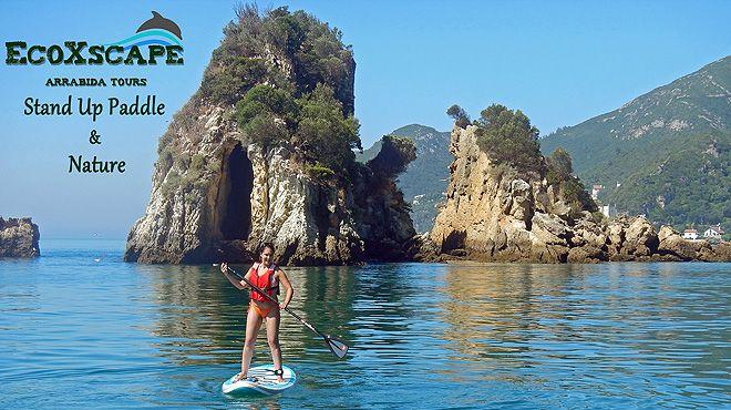 EcoXscape - Arrabida Tours&#10Foto: EcoXscape - Arrabida Tours - Stand Up Paddle & Nature